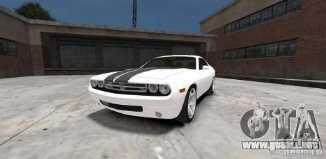 Dodge Challenger 2006 para GTA 4