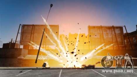 Explosiones grandes y realistas para GTA 4