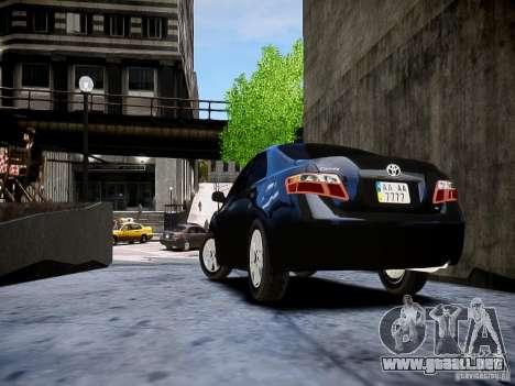 Toyota Camry para GTA 4 left