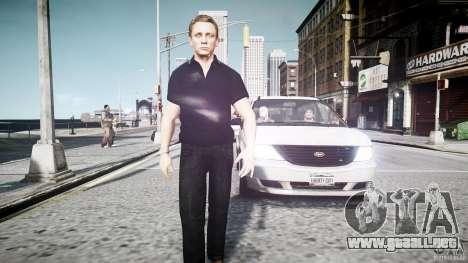 Piel de James Bond para GTA 4