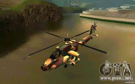 Hunter Armee Look para GTA San Andreas