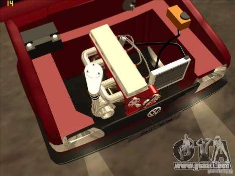 Volkswagen Saveiro Summer para vista lateral GTA San Andreas