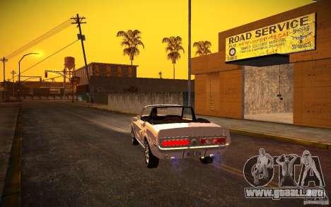 ENBSeries v1.0 por GAZelist para GTA San Andreas sexta pantalla
