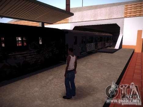 El tren de GTA IV para GTA San Andreas left