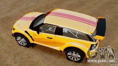 Bowler EXR S 2012 para GTA 4 visión correcta
