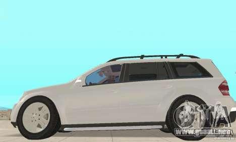 Mercedes-Benz GL450 para GTA San Andreas vista posterior izquierda