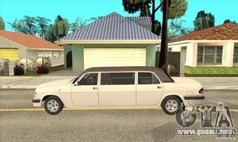 GAZ 3110 sedán para GTA San Andreas left