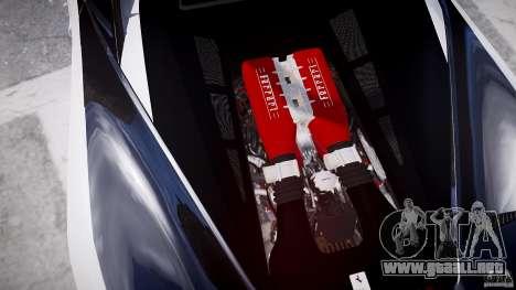 Ferrari 458 Italia - Brazilian Police [ELS] para GTA 4 vista desde abajo