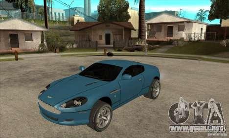 Aston Martin DB9 de NFS MW para GTA San Andreas