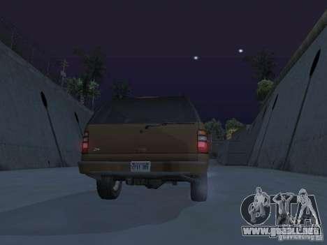 Chevrolet Suburban 2003 para el motor de GTA San Andreas