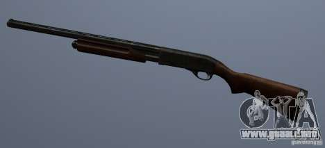 Remington 870AE para GTA San Andreas tercera pantalla