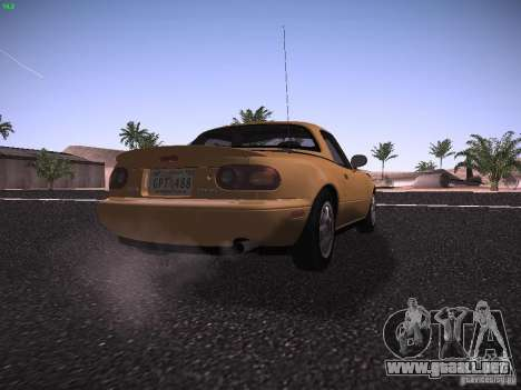 Mazda MX-5 1997 para la visión correcta GTA San Andreas