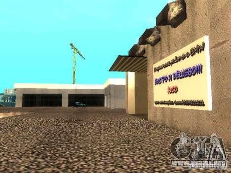Concesionario BMW en San Fierro para GTA San Andreas sucesivamente de pantalla