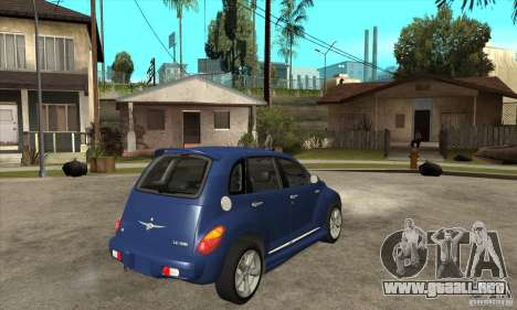 Chrysler PT Cruiser GT 2004 para la visión correcta GTA San Andreas