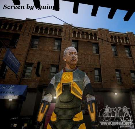 Morgan Freeman para GTA 4