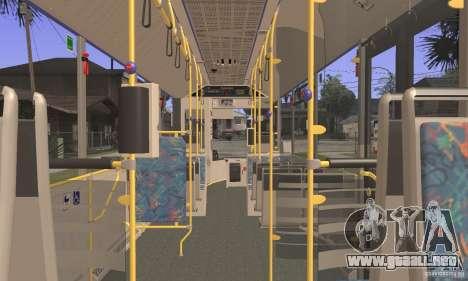 Design X3 GL para GTA San Andreas vista hacia atrás