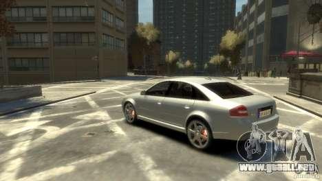 Audi RS6 2003 para GTA 4 left