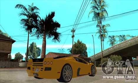 SSC Ultimate Aero FM3 version para la visión correcta GTA San Andreas