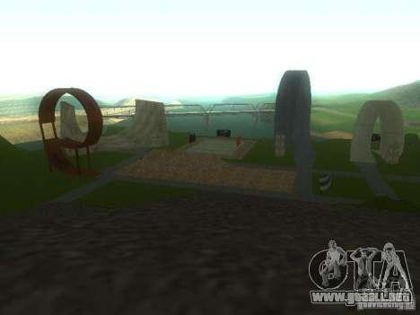 Ekstrimalov Park para GTA San Andreas segunda pantalla