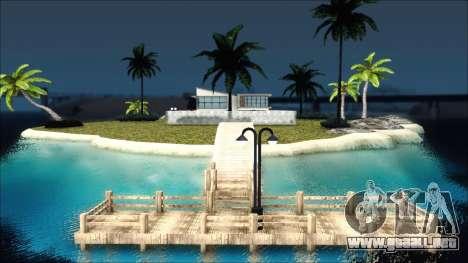 Diegoforfuns Modern House para GTA San Andreas segunda pantalla