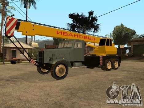 Camión KrAZ para GTA San Andreas