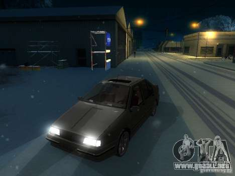 Renault 19 Chamade para visión interna GTA San Andreas