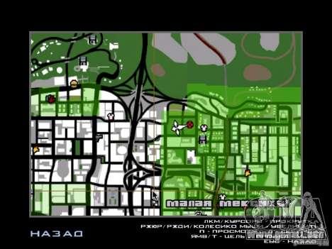 Predator para GTA San Andreas sucesivamente de pantalla