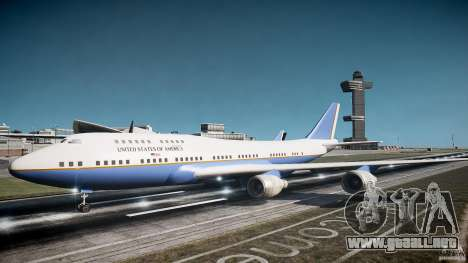 Air Force One v1.0 para GTA 4 left
