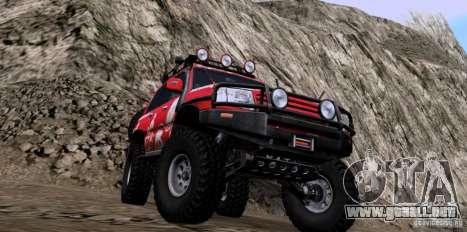 Toyota Land Cruiser 100 Off-Road para la visión correcta GTA San Andreas
