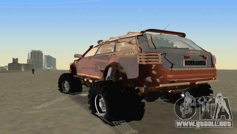 Audi Allroad Offroader para GTA Vice City visión correcta