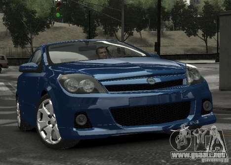 Opel Astra OPC para GTA 4 vista hacia atrás