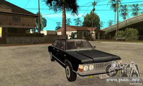 GAZ 14 Chaika para GTA San Andreas vista hacia atrás
