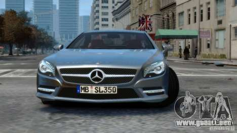 Mercedes-Benz SL 350 2013 v1.0 para GTA 4 left
