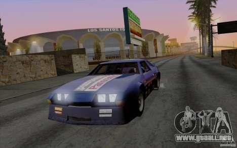 SA Illusion-S SA:MP Edition V2.0 para GTA San Andreas sucesivamente de pantalla
