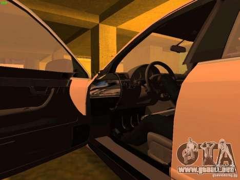 Audi S4 OEM para la vista superior GTA San Andreas