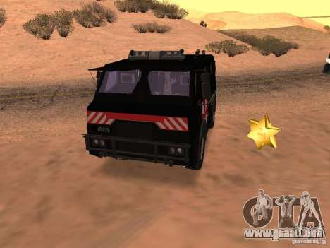 AM 7.0 Umbrella Corporation para vista lateral GTA San Andreas