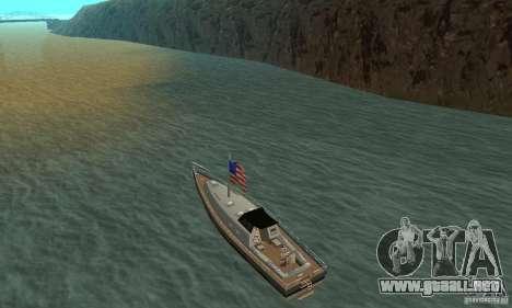 USA Marquis para GTA San Andreas vista posterior izquierda