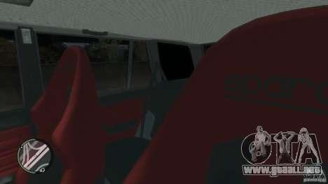VAZ 2104 Tuning para GTA 4 interior