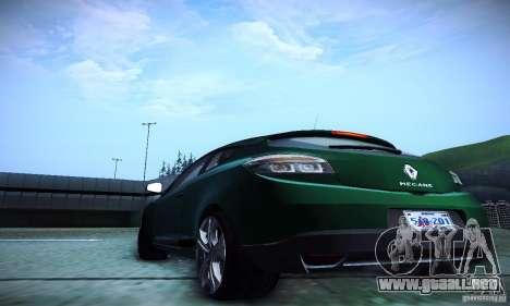 Renault Megane Coupe para visión interna GTA San Andreas