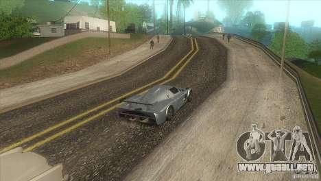 Carretera de calidad en el LS para GTA San Andreas quinta pantalla