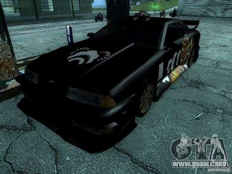 Vinilo gran Lou de Most Wanted para GTA San Andreas vista posterior izquierda