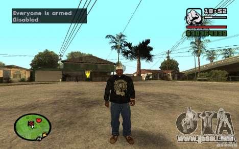 CAMZum beta disponible de GTA 5 para GTA San Andreas quinta pantalla