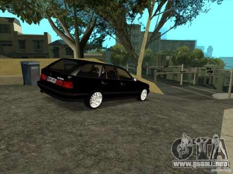 BMW E34 535i Touring para la visión correcta GTA San Andreas