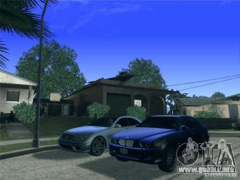 BMW M5 E39 2003 para vista lateral GTA San Andreas