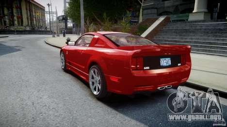 Saleen S281 Extreme - v1.2 para GTA 4 Vista posterior izquierda