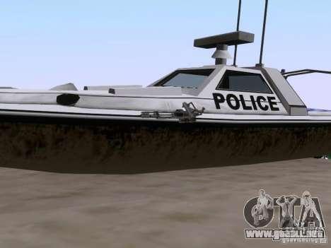 NEW Predator para GTA San Andreas vista hacia atrás