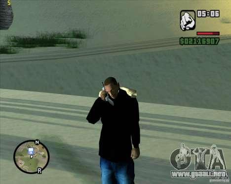Ambulancia para GTA San Andreas segunda pantalla