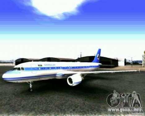 Airbus A-320 Azerbaijan Airlines para GTA San Andreas