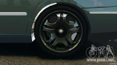 Hyundai Azera para GTA 4 vista hacia atrás