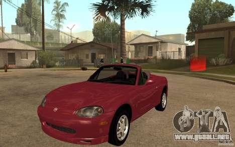 Mazda MX5 - Stock para GTA San Andreas